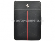 Кожаный чехол для iPad mini Ferrari California Leather Case, цвет black (FECFFCMPBL)