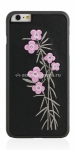 Кожаный чехол-накладка для iPhone 6 Plus BMT Petite Couturiere Flora (ip6-l-fl-pnk-cry)